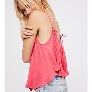 Free People Criss Roads Pink Cami